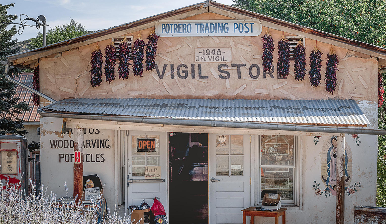 Front of Vigil Store